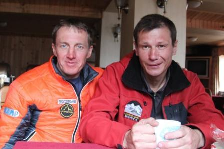 Denis Urubko and Alexey Bolotov